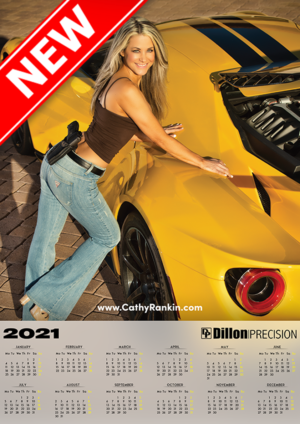 Special Anniversary Dillon Ford GT Poster Calendar